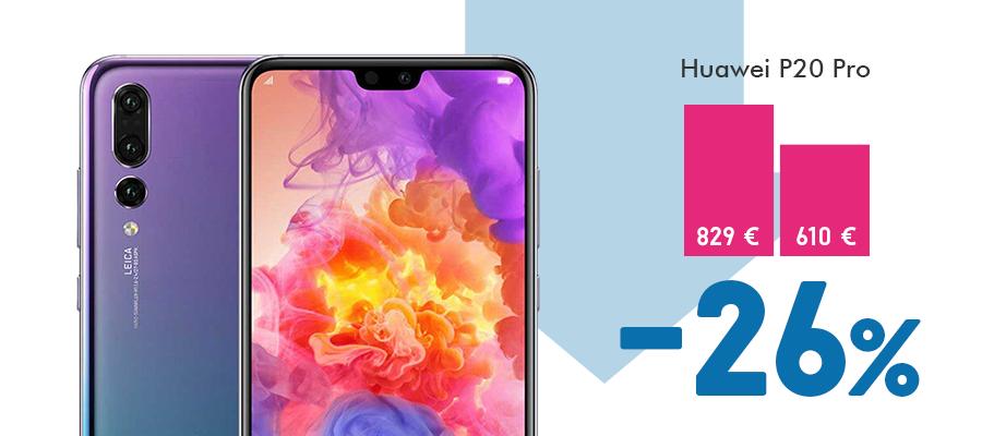 Huawei P20 Pro kaina