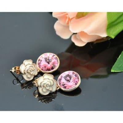 9591634b096 Vincento Earrings With Swarovski Elements Rivoli VE-3120 kaina nuo ...